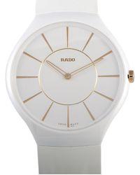 Rado Unisex True Thinline Watch - Metallic
