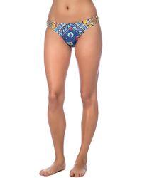 Nanette Lepore Woodstock Bikini Bottom - Blue