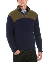 Brooks Brothers Polar Fleece 1/2-zip Pullover - Green