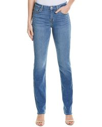 7 For All Mankind 7 For All Mankind Kimmie Dray Straight Leg - Blue