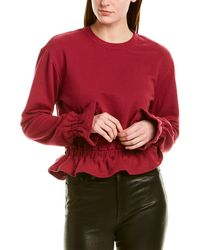 David Lerner Poppy Sweatshirt - Red