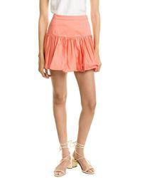 10 Crosby Derek Lam Kami Bubble Mini Skirt - Pink