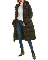 Nine West Puffer Coat - Black
