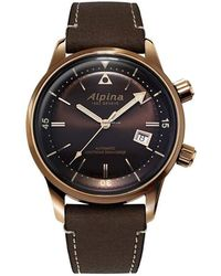 Alpina Seastrong Heritage Watch - Black
