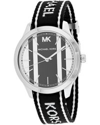Michael Kors Mk2795 Runway Watch - Metallic
