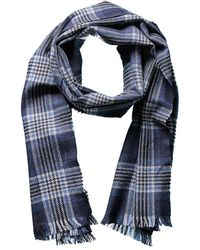 Phenix - Men's Windowpane Wool Scarf - Lyst