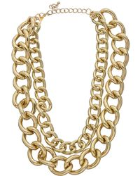 Kenneth Jay Lane Gold Plated Necklace - Metallic