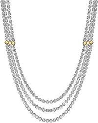Di Modolo - 18k Rose Gold Over Silver Necklace - Lyst