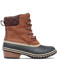 Sorel Slimpack Lace Ii Leather Boot - Brown