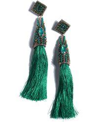Shiraleah Fabienne Earrings - Green