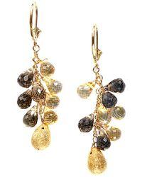 Effy - Fine Jewelry 14k 20.00 Ct. Tw. Gemstone Drop Earrings - Lyst