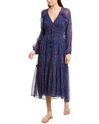 Figue Alessia Maxi Dress - Blue