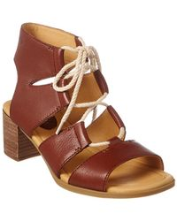29134608b Lyst - Sperry Top-Sider Wedge Sandals - Skye Grosgrain High Heel in ...