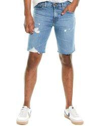J Brand Dl1961 Premium Denim Eli Shimbus Cut Off Short Jean - Blue