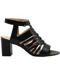 Adrienne Vittadini Pense Sandals - Black