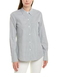 Lafayette 148 New York Linley Blouse - Green