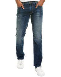 Hudson Jeans Blake Slim Blue Straight Leg Jean