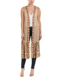 Haute Hippie Love And Other Disabilities Vest - Natural