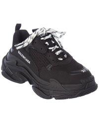 Balenciaga Triple S Sneaker - Black