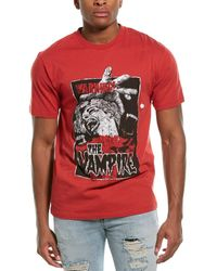 The Kooples Printed T-shirt - Red