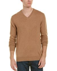 Qi - V-neck Cashmere Sweater - Lyst