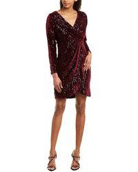 Julia Jordan Sheath Dress - Purple
