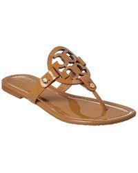Tory Burch - Miller Patent Sandal - Lyst