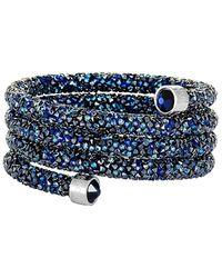 Swarovski Crystal Bracelet - Blue
