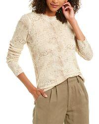 Brochu Walker Arianne Wool & Cashmere-blend Jumper - White