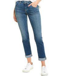 Hudson Jeans Bacara Montmartre Straight Crop - Blue