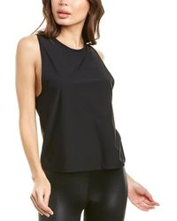 All Access Front Muscle Tank - Black