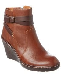 Söfft - Caralee Leather Ankle Boot - Lyst
