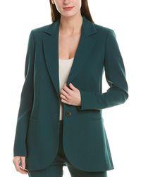 Carolina Herrera Wool-blend Blazer - Green