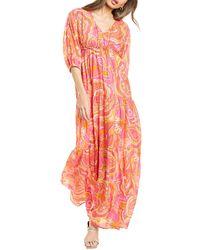Trina Turk Arco Iris 2 Maxi Dress - Pink