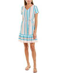 Bessa Shift Dress - Blue