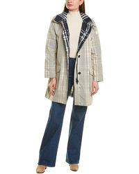 Woolrich Peony Trench Coat - Grey