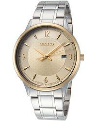 Seiko Essentials Watch - Metallic