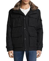 Sam. - Blizzard-trimmed Puffer Jacket - Lyst