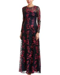 David Meister Gown - Blue