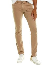 7 For All Mankind 7 For All Mankind Paxtyn Khaki Skinny Leg Jean - Natural