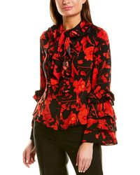 Gracia Blouse - Red