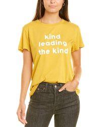 Sub_Urban Riot Sub_urban Riot Kind Leading The Kind T-shirt - Yellow