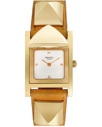 Hermès Hermes 2000s Women's Medor Watch - Metallic