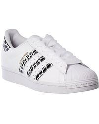 adidas Superstar Leather Sneaker - Multicolor