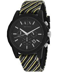 Armani Exchange Classic Watch - Black