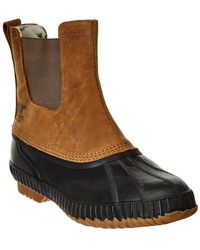 Sorel Cheyanne Ii Chelsea Waterproof Suede Boot - Brown