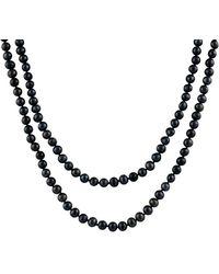 Splendid - Splendid Freshwater Pearls 7-8mm Freshwater Pearl Endless 100in Necklace - Lyst