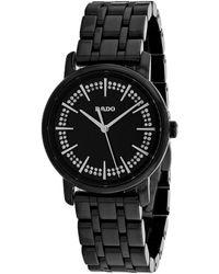 Rado Diamaster Watch - Black