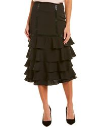 Gracia Pencil Skirt - Black
