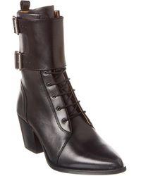 IRO Caliope Leather Boot - Black